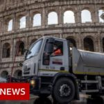 Coronavirus: Italy virus deaths rise but infections slow again    BBC News