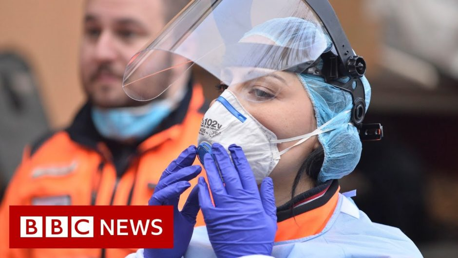 Italy coronavirus deaths rise by record 475 in a day   BBC News