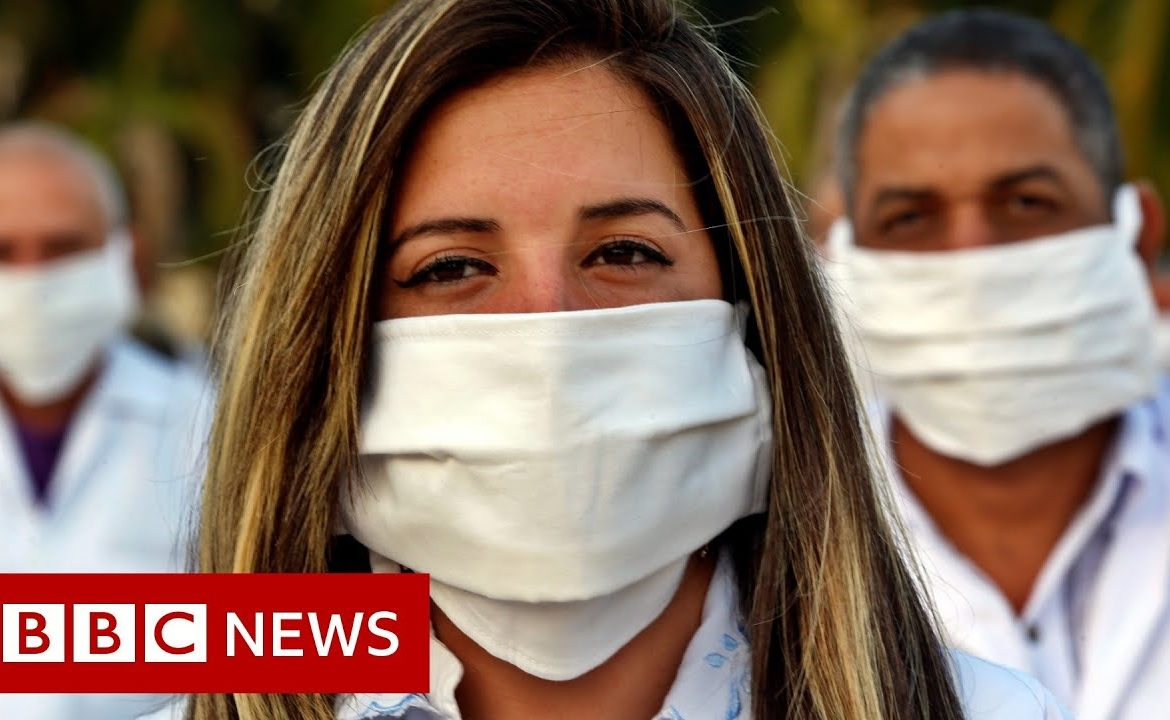 Coronavirus: Cuban doctors go to South Africa   BBC News