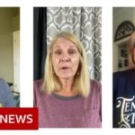 Coronavirus: What Trump voters think of his handling of crisis   BBC News