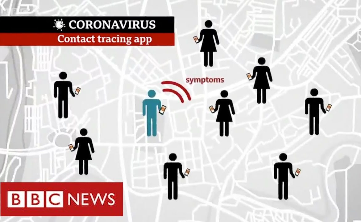 Coronavirus: trial of mobile app to track infections   BBC News