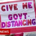 Coronavirus: Armed protesters enter Michigan statehouse   BBC News