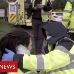 Coronavirus frontline: the paramedics risking their lives to help patients   BBC News