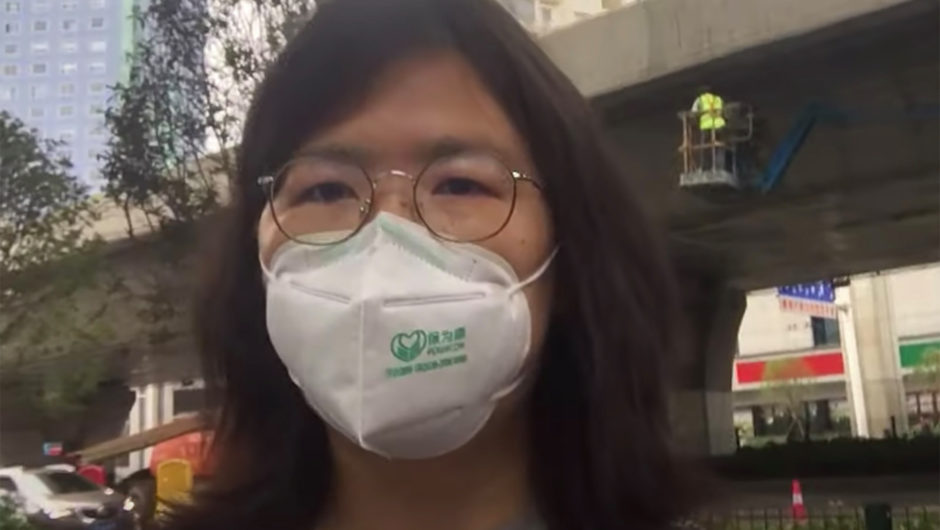 China targets citizen journalists reporting on coronavirus