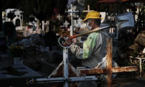 Cemeteries braced for surge in Covid 19 dead as Mexico readies to reopen