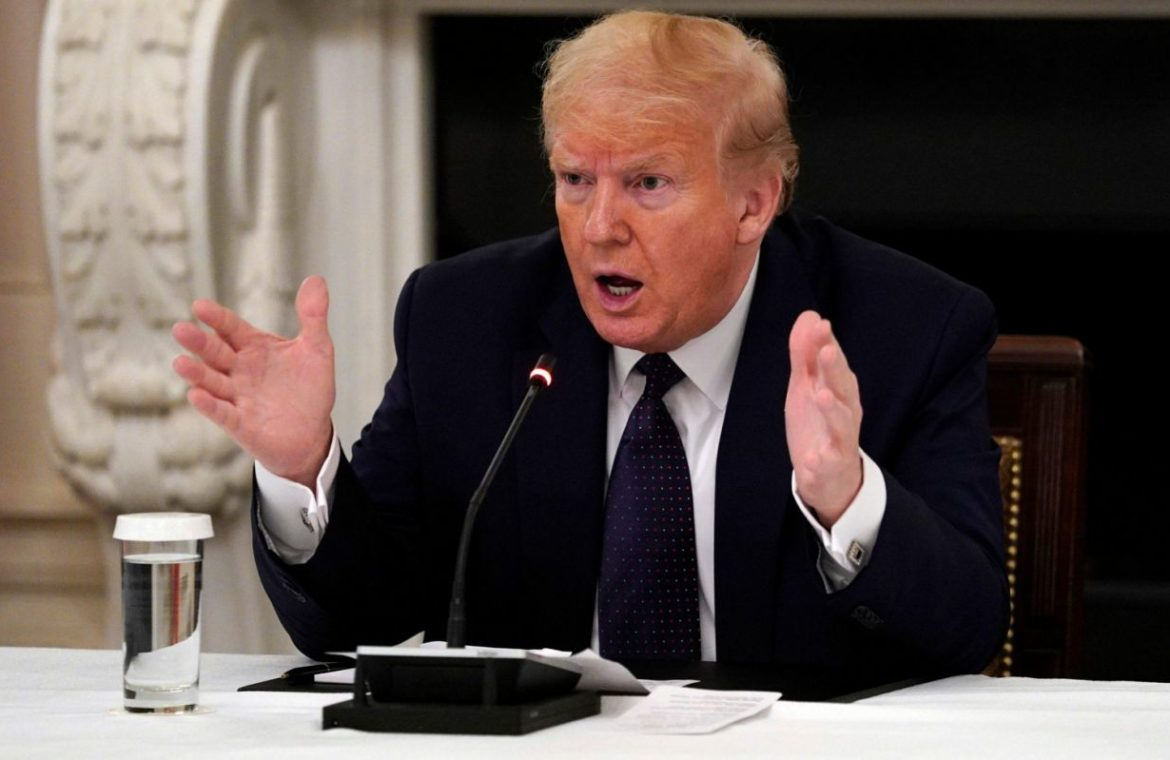 Donald Trump reveals he is taking hydroxychloroquine, the drug he touts as coronavirus treatment