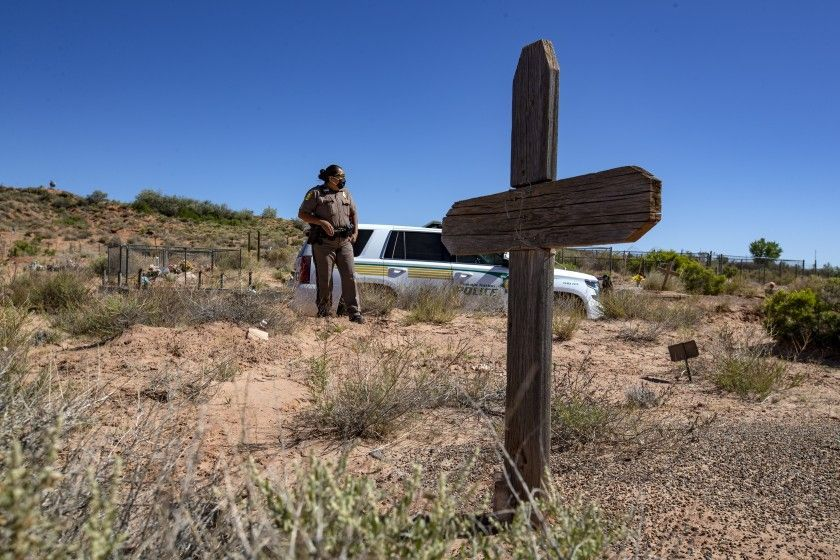 She's patrolled the Navajo Nation for nearly 20 years. Nothing prepared her for the COVID 19 outbreak