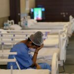 New Delhi healthcare system on brink of collapse as coronavirus cases surge