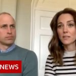 Coronavirus: Royals praise 'stoicism' of NHS workers   BBC News