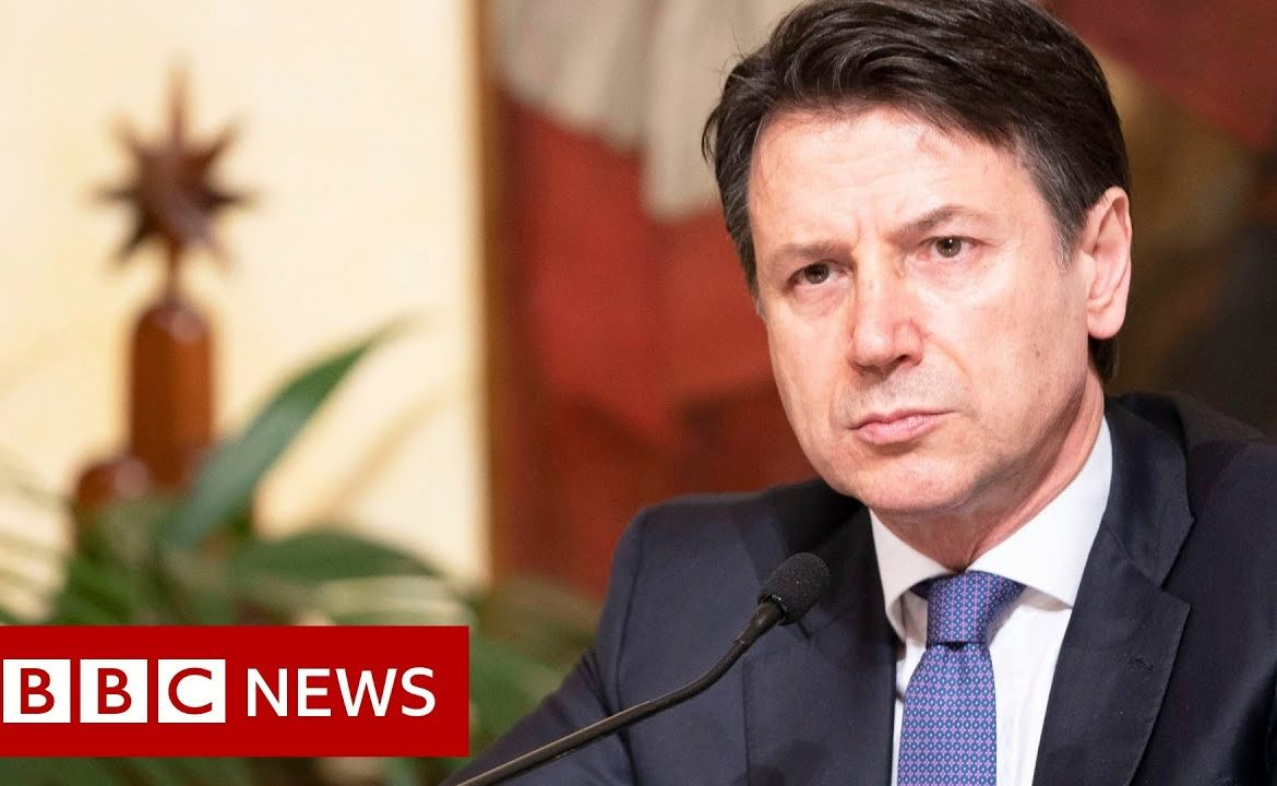 Coronavirus: EU could fail over outbreak, warns Italy's Giuseppe Conte   BBC News