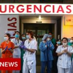 Coronavirus: Spanish deaths fall for fourth consecutive day   BBC News