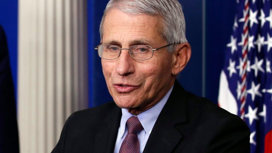 Top coronavirus expert Dr. Anthony Fauci says he hasn't talked to Trump in two weeks