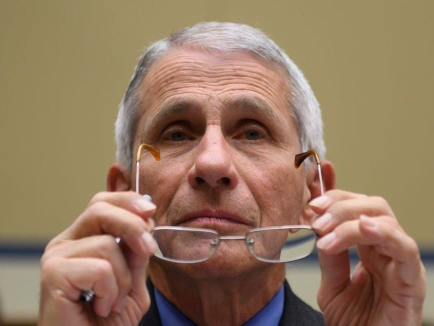 Fauci just criticized Moderna for touting preliminary data on its coronavirus vaccine, but said the results look 'very promising'
