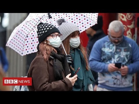 """Coronavirus warning:  """"stay at home to save lives""""   as deaths rise   BBC News"""