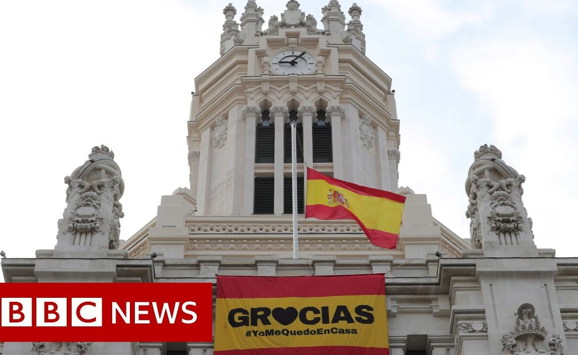 Coronavirus: Spain extended the state of emergency until at least 12 April   BBC News