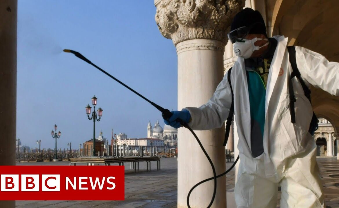 Coronavirus: Virus cases rise rapidly in Europe and US   BBC News