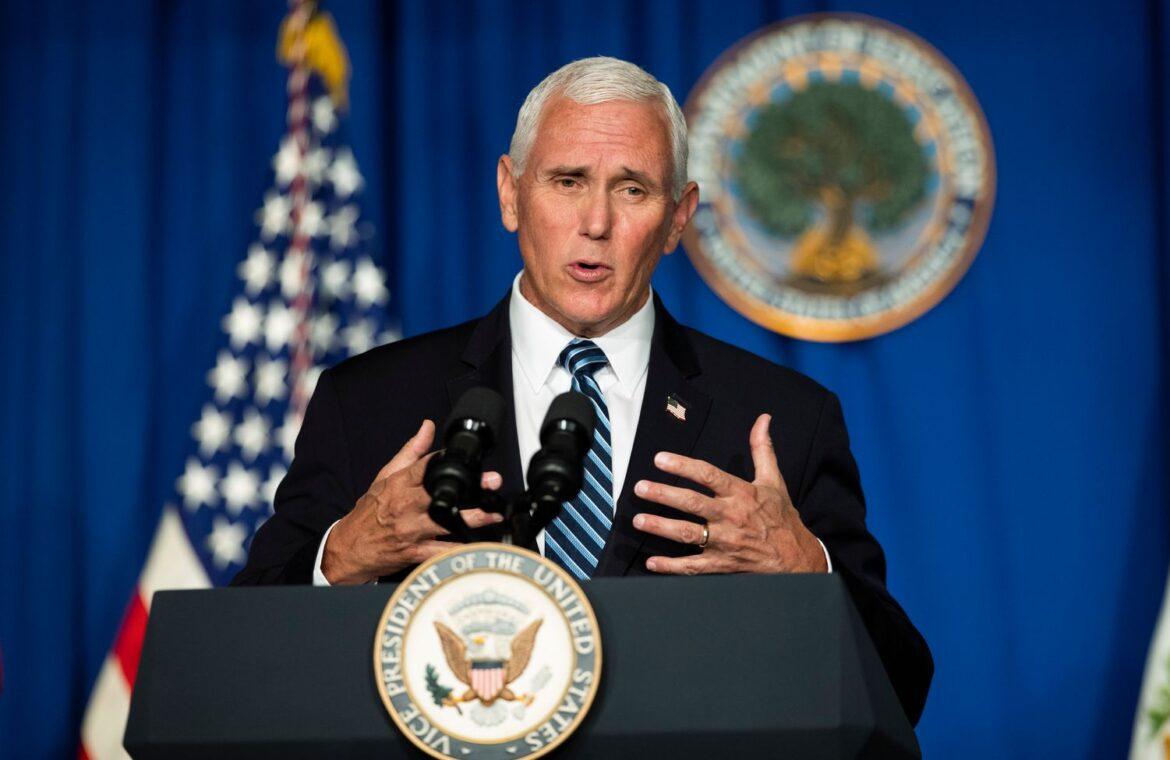 Pence touts progress in Covid 19 hot spots amid a surge of cases