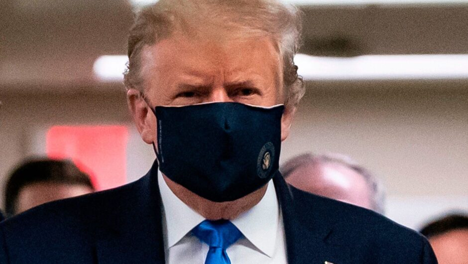 Trump finally admits COVID 19 is a serious problem, just not his problem