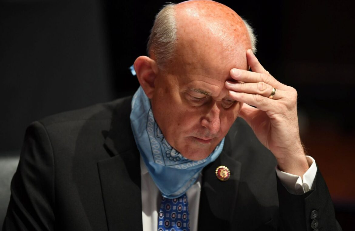 Rep. Louie Gohmert, who often went without a mask, tests positive for the coronavirus