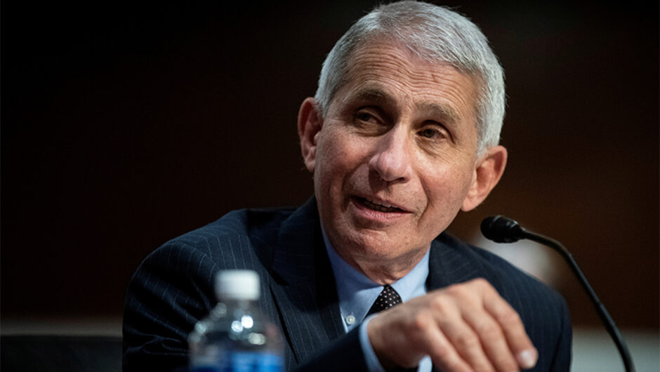 Fauci urges Americans to wear goggles for added COVID 19 protection