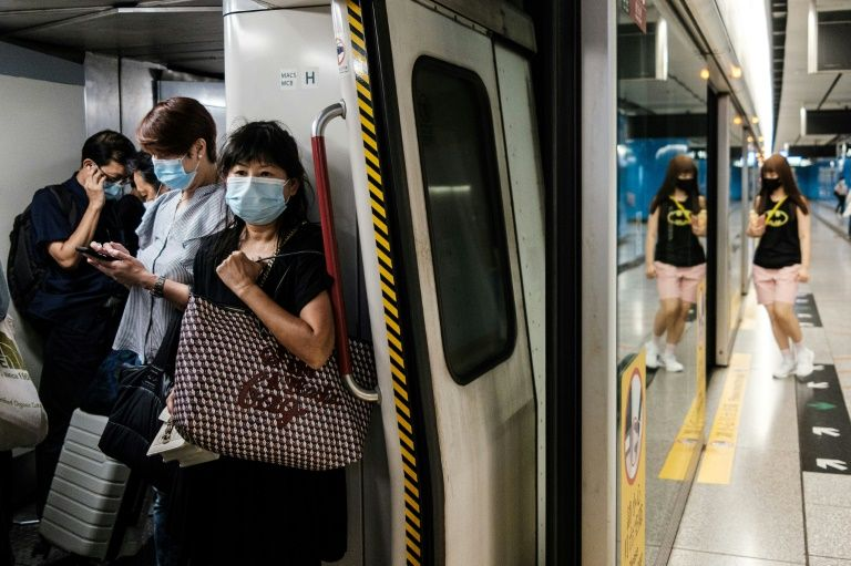 Hong Kong leader says coronavirus now spreading 'out of control'