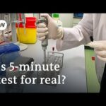 Coronavirus: US lab unveils portable 5 minute Covid 19 test | DW News