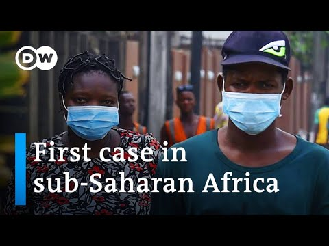 Nigeria confirms first coronavirus case is Italian man in Lagos | DW News