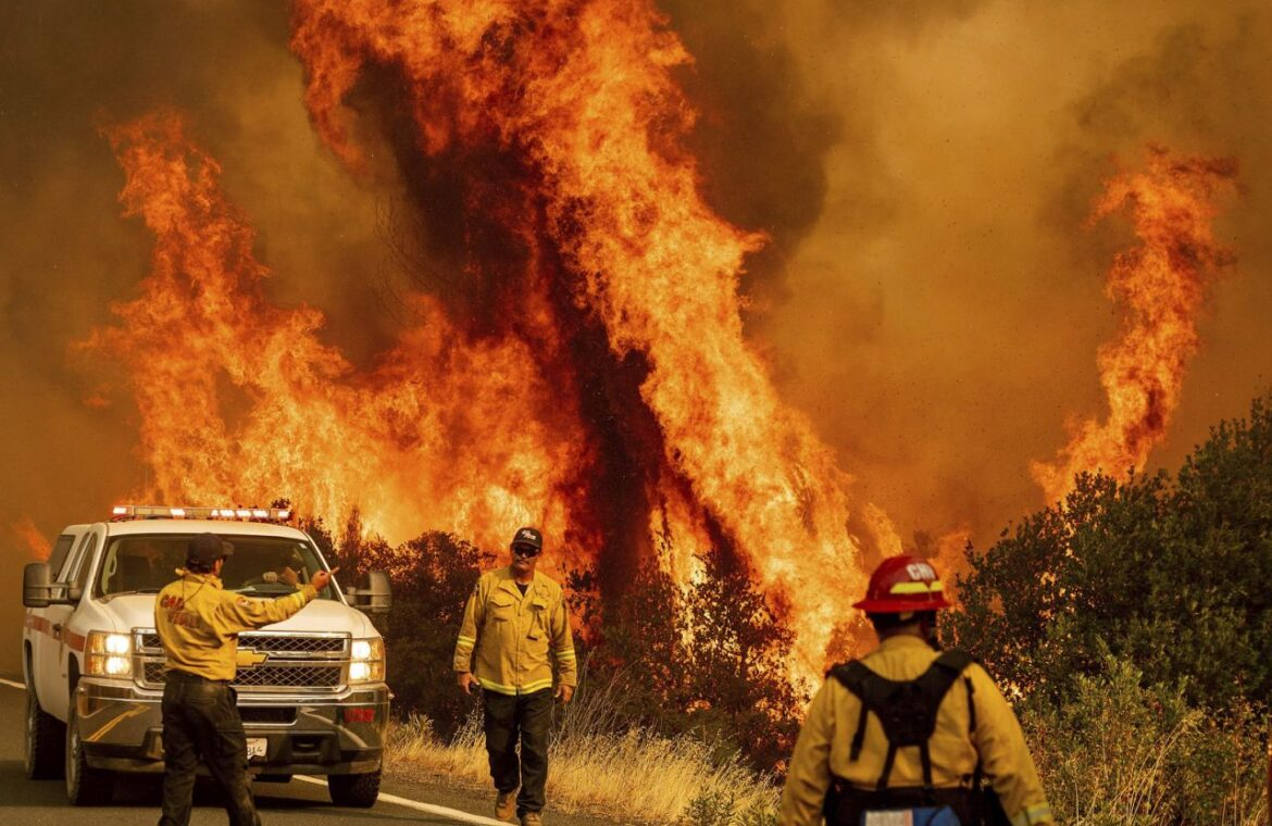 California wildfires and COVID 19 form twin crises
