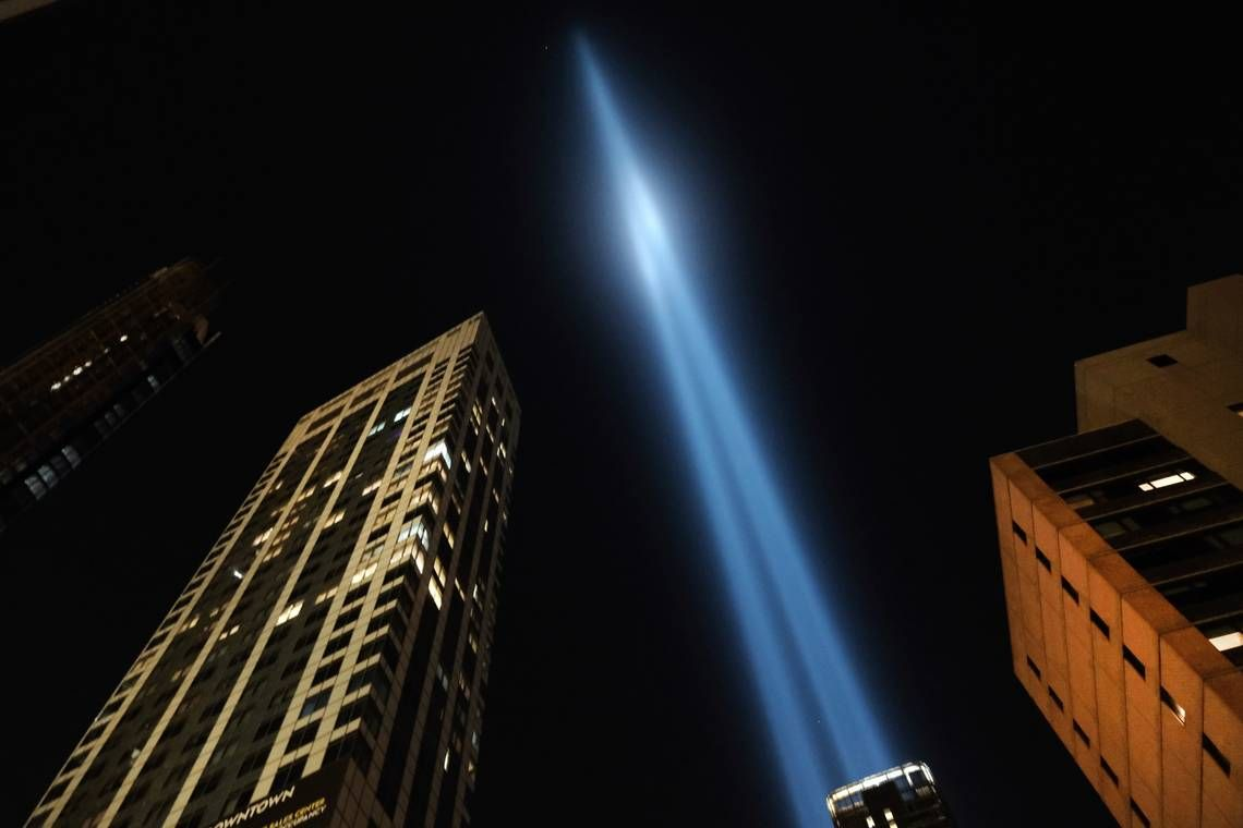 'This is a disgrace.' Outrage after 9/11 light show canceled over COVID 19 concerns