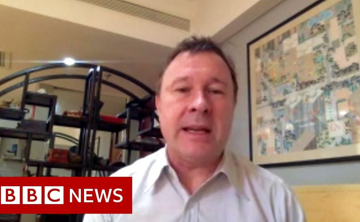 Coronavirus: Reporter begins quarantine at home after visiting infected zone   BBC News