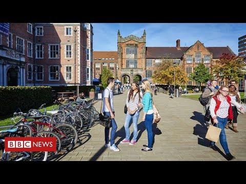 Universities prepare for student return   BBC News