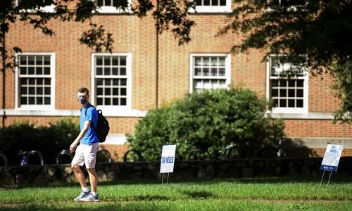 Two universities welcomed students on campus. Only one tested for Covid 19