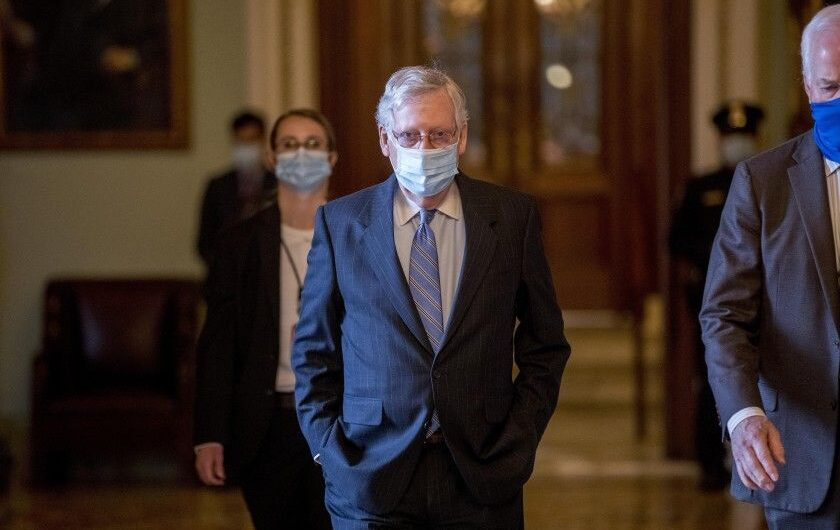 No stimulus checks for Americans in slimmed down GOP coronavirus relief package