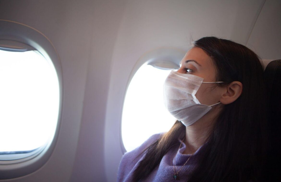 Two new studies indicate COVID 19 can spread on long airline flights, promote distancing