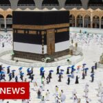 Coronavirus: Scaled back Hajj pilgrimage begins in Saudi Arabia   BBC News