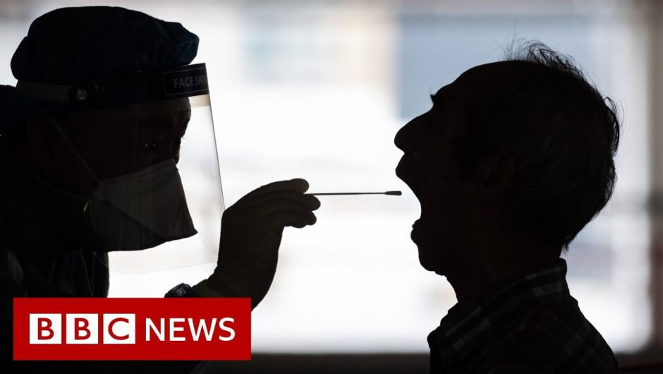 Coronavirus: Hong Kong on verge of 'large scale' outbreak, says Carrie Lam   BBC News