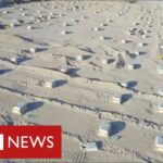 Iraq builds mass grave in the desert as coronavirus deaths surge   BBC News