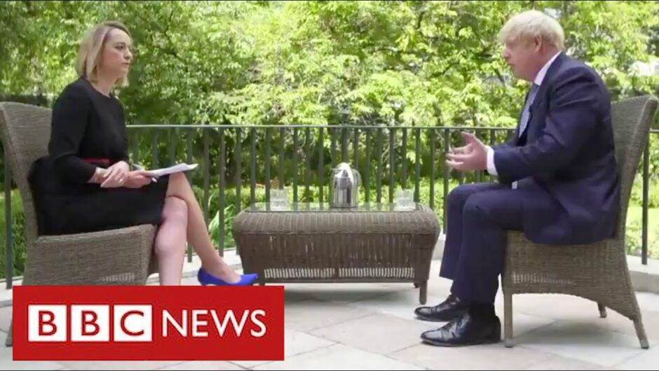 "Boris Johnson admits government ""didn't understand"" coronavirus for months   BBC News"
