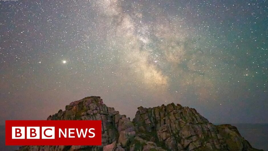 Coronavirus: Escaping to space in lockdown   BBC News