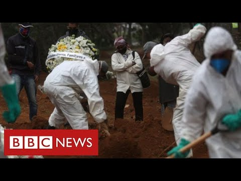 Brazil struggles with coronavirus crisis as President tests positive for disease   BBC News