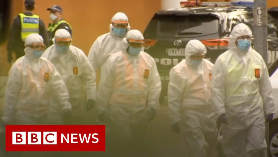 Coronavirus: Melbourne tower block lockdown 'like being in prison'   BBC News