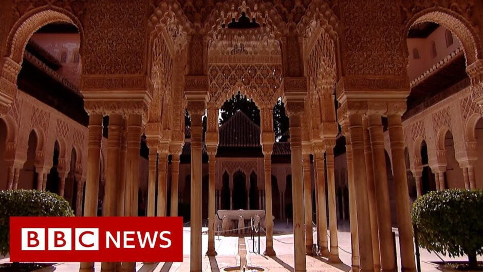 Coronavirus: Spain's Alhambra Palace reopens to visitors   BBC News