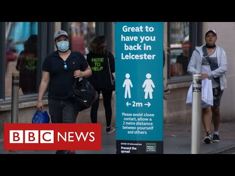 Lockdown tightened in Leicester as coronavirus cases surge   BBC News