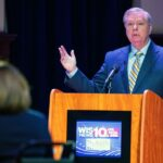 South Carolina Senate debate replaced with interviews after Lindsey Graham 'refuses Covid 19 test'