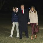 Barron Trump tested positive for COVID 19 earlier this month