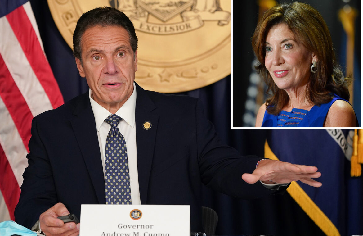 Cuomo's COVID 19 book omits mention of Lt. Gov. Kathy Hochul