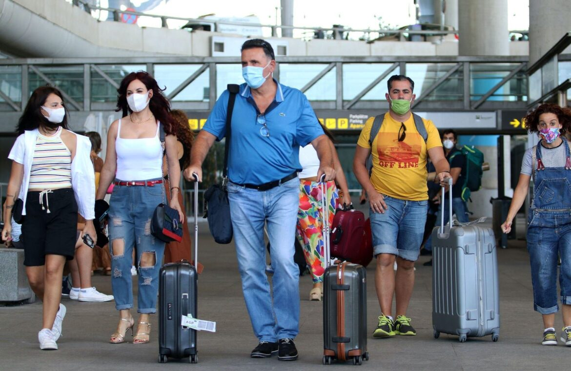 A mutated coronavirus strain causes most new COVID 19 infections in Europe and was spread within the continent by tourists, scientists say
