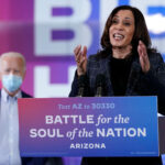2 people Kamala Harris traveled with test positive for COVID 19
