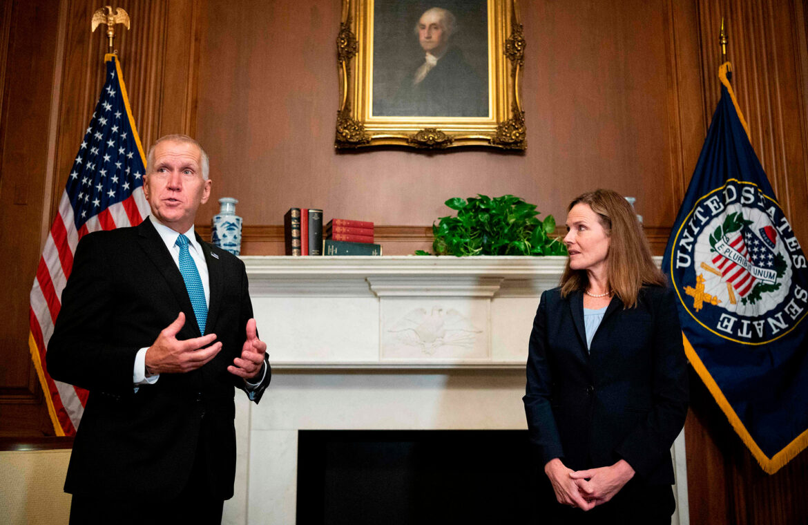 Amy Coney Barrett's SCOTUS nomination at risk amid DC COVID 19 outbreak