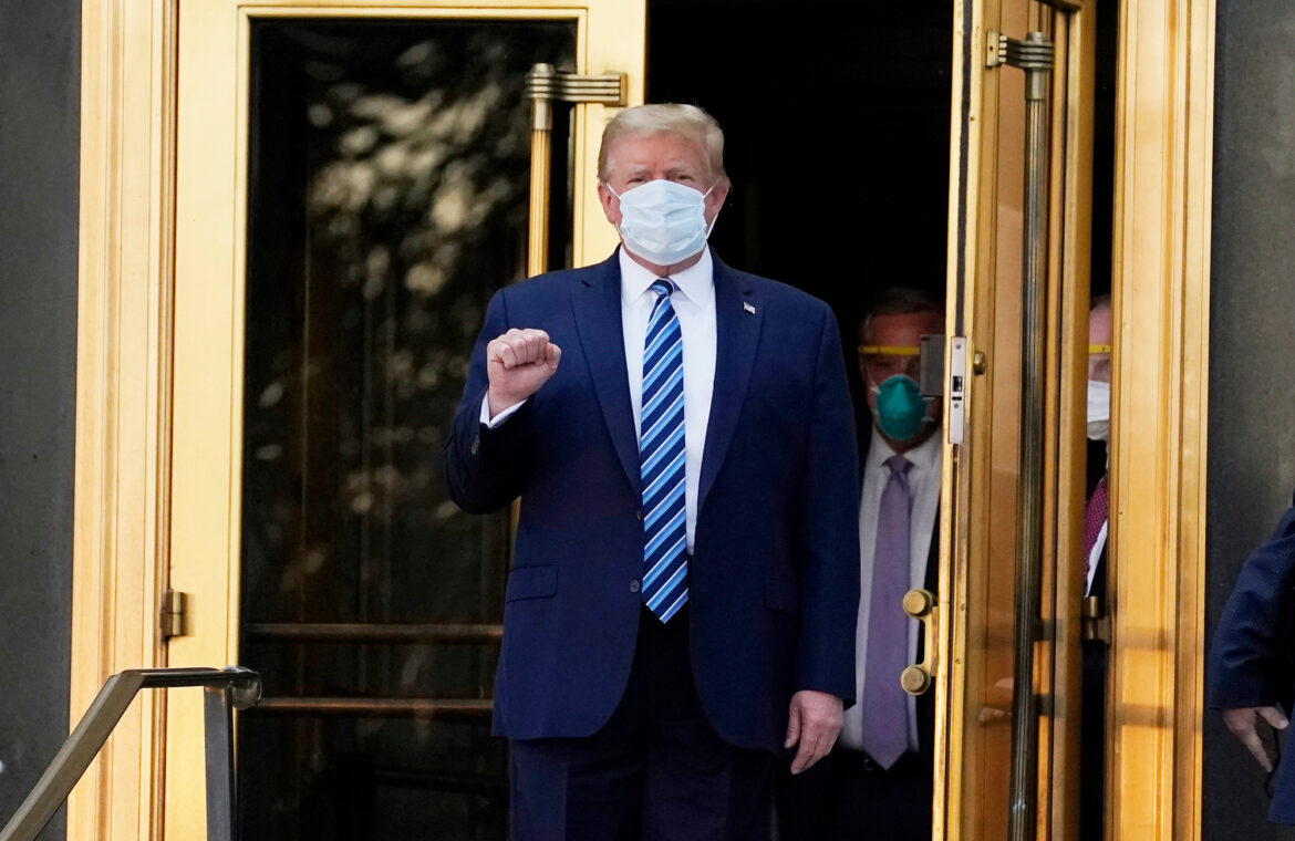 Trump released from Walter Reed hospital after receiving COVID 19 treatment